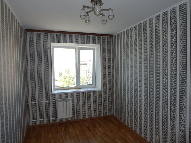 косметический вид ремонта в черновой квартире (ул. Островского г. Томск)